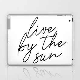 live by the sun love by the moon (1 of 2) Laptop & iPad Skin