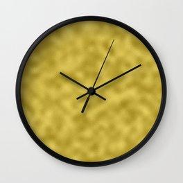 Gold Foil Wall Clock