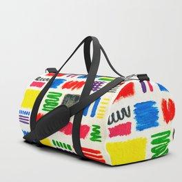 Dribble Scribble Duffle Bag