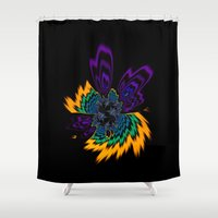 firefly Shower Curtains featuring Firefly by Steve Purnell