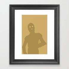 C-3PO Framed Art Print