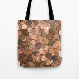 Pennies for your thoughts Tote Bag