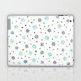 Watercolour Daisies & Stars Laptop & iPad Skin