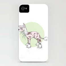 Chinese crested iPhone (4, 4s) Slim Case