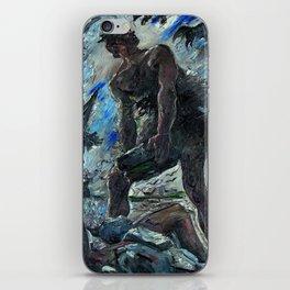 Lovis Corinth - Cain iPhone Skin