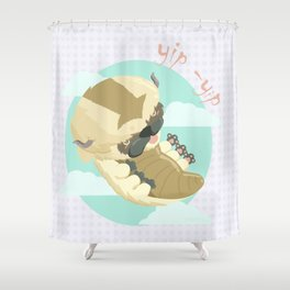 Appa - Avatar the legendo of Aang Shower Curtain