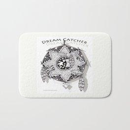Zentangle Dreamcatcher Bath Mat