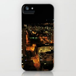 lost in the city. iPhone Case