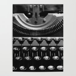 Typewriter No.4 Poster