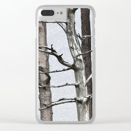Tree life Part III Clear iPhone Case