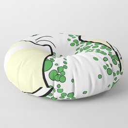 Bubbly Cat Floor Pillow