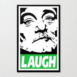 Bill Murray laugh  Canvas Print