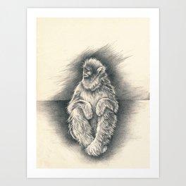 quiet disquiet Art Print