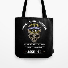 Proud Correctional Officer Tote Bag