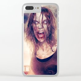 Ashes and Blood Clear iPhone Case