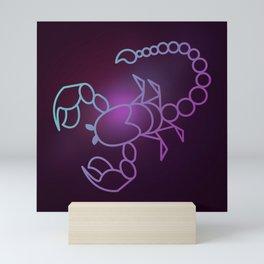 Universe Scorpio Zodiac Symbol Mini Art Print