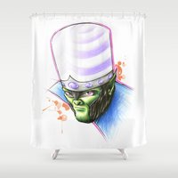 jojo Shower Curtains featuring Mojo by Creadoorm