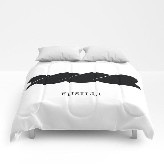 Pasta Series: Fusilli Comforters