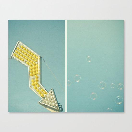 Bubbles Canvas Print