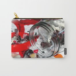 Christmas Candy Jar Carry-All Pouch