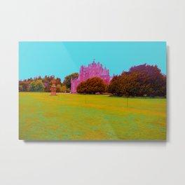 glamis castle in technicolor Metal Print