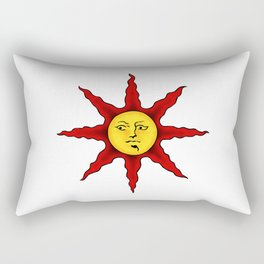 Praise the sun Rectangular Pillow