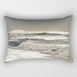 Wave to the wind - strong and powerful Rectangular Pillow