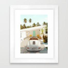 The Getaway House Framed Art Print