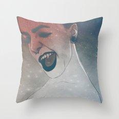 Vamp Throw Pillow