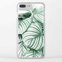 Long embrace Clear iPhone Case