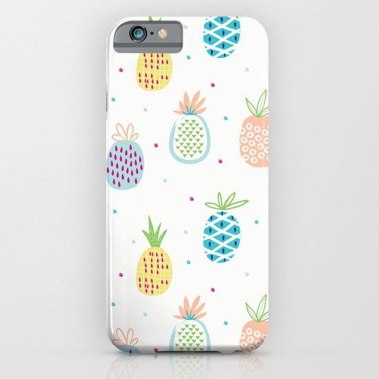 Pineapples iPhone & iPod Case