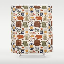 Woodland Wanderings Shower Curtain