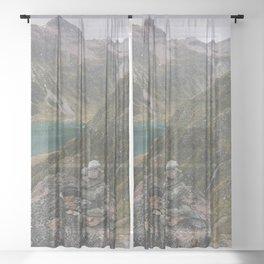 Trail Blazer Sheer Curtain
