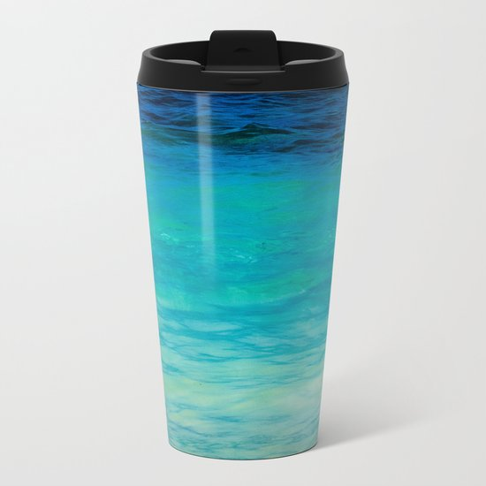 SEA BEAUTY Metal Travel Mug