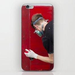 Red Graffiti iPhone Skin