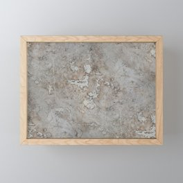 Rough marbles Framed Mini Art Print