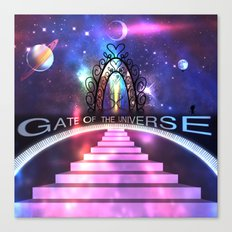 Gate of the Universe Canvas Print