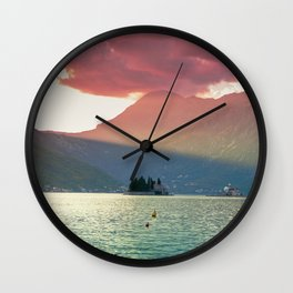 Perast 1.0 Wall Clock