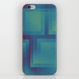 Retro surf pattern iPhone Skin