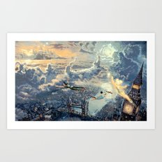 Peter Pan - The Second Star to the Right Art Print