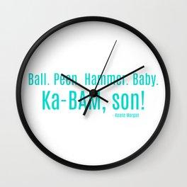 Ka-BAM Son Wall Clock