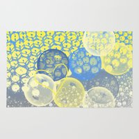 bubble Area & Throw Rugs featuring Bubble by LoRo  Art & Pictures