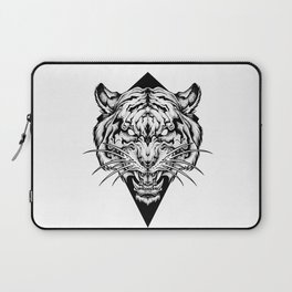 TIGER head. Tattoo,psychedelic / zentangle style Laptop Sleeve