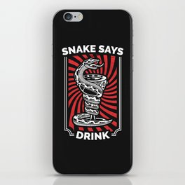Snake Goblet iPhone Skin