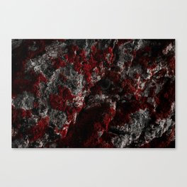 Sardinia Red Rock Canvas Print