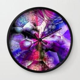 abstract cs m Wall Clock