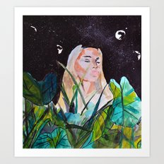 Romanticizing Sadness Art Print