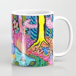 Pond Abstract Coffee Mug