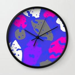Color bright spot 1 Wall Clock