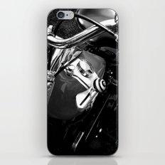 Black & White Harley iPhone & iPod Skin